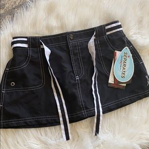 NWT Zero Xposur Swim Skirt